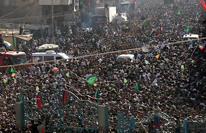 Stampede is common among a large crowd of people