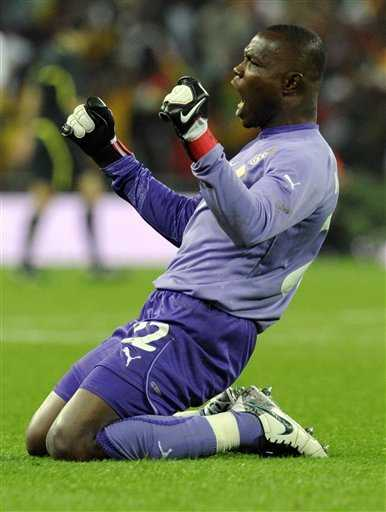 Ghana goalkeeper- Richard Kingson