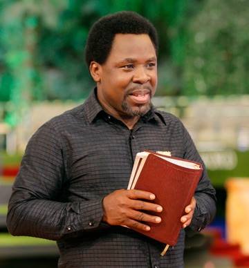Prophet T.B. Joshua Of The Synagogue Of All Nations