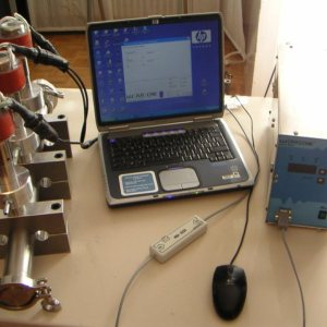 clamp-system-Infrasonic Generator powered by a Laptop
