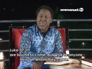 Luke 17:1b-Woe unto him through whom they come