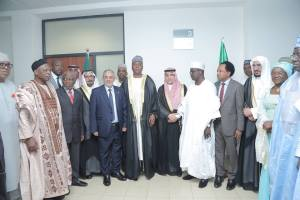 Saudi Arabia Delegation Visits Nigerian Senate Assembly, Pledges Support For Government