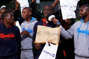 Libya deportees Received the Millions of Naira
