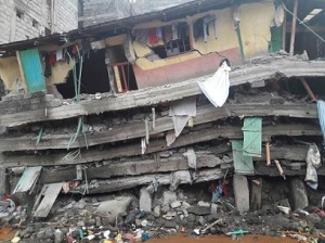 A Collapsed Kenya building