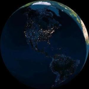 Darkness Taking over the Earth