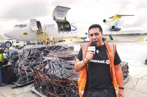 Tb Joshua Ecuador Relief Materials