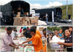 Ecuador Relief Materials