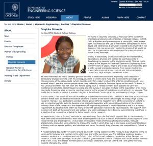 Olayinka Profile, TB Joshua , SCOAN, Oxfrod