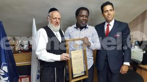 TB Joshua Israel award
