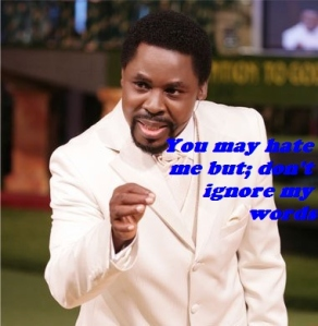 Italy earthquake France attack Tb Joshua
