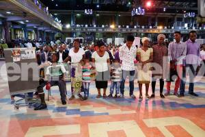 Dr Sunday Simon family tb joshua