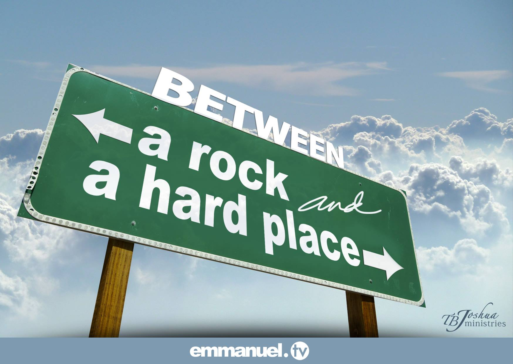between a rock and a hard Between a rock and a hard place definition, a large mass of stone forming a hill, cliff, promontory, or the like see more.