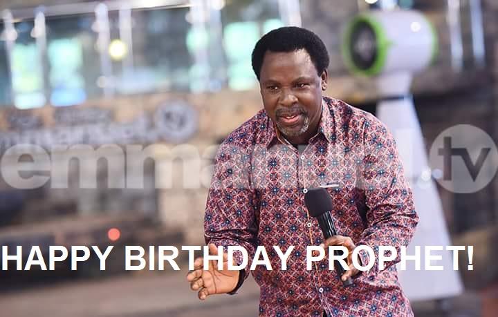 Birthday TB Joshua