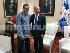 TB Joshua With DR President