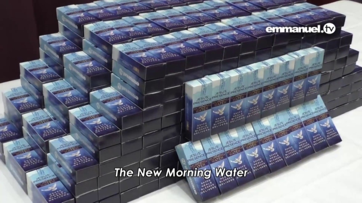 New morning water,tbjoshua