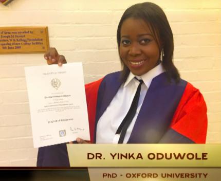 Dr Yinka Oduwole