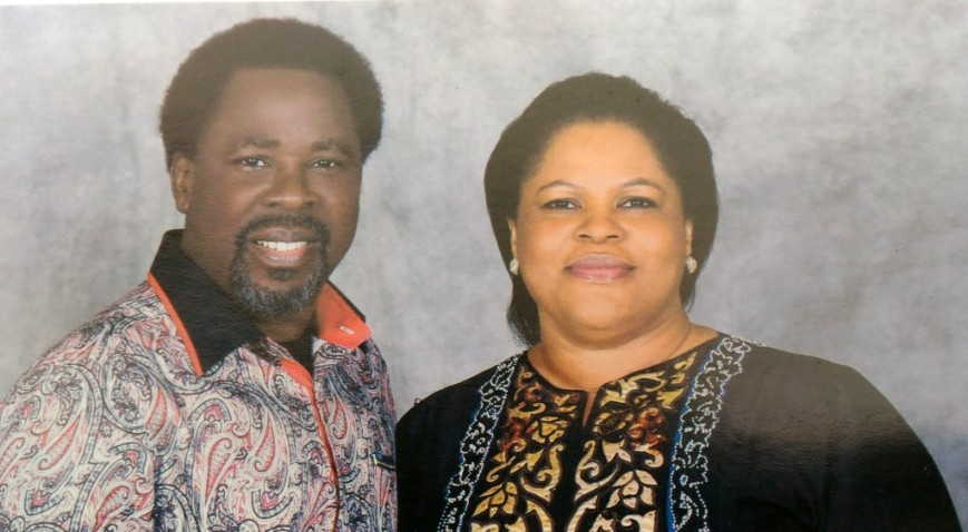 TB Joshua and wife