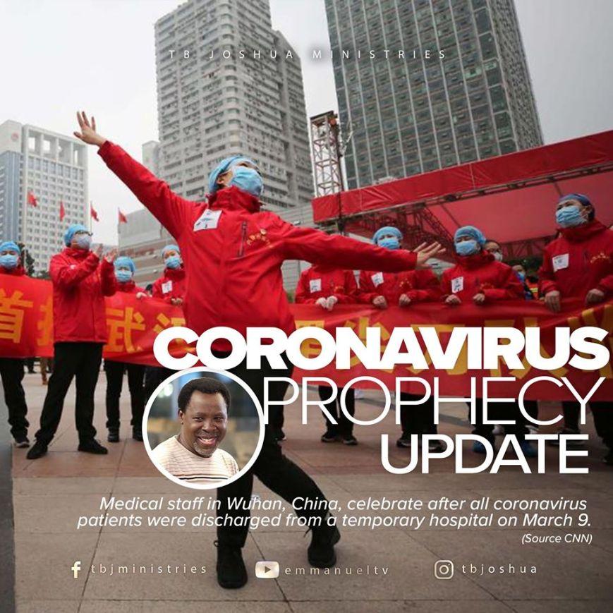 coronavirus, tb joshua, china free