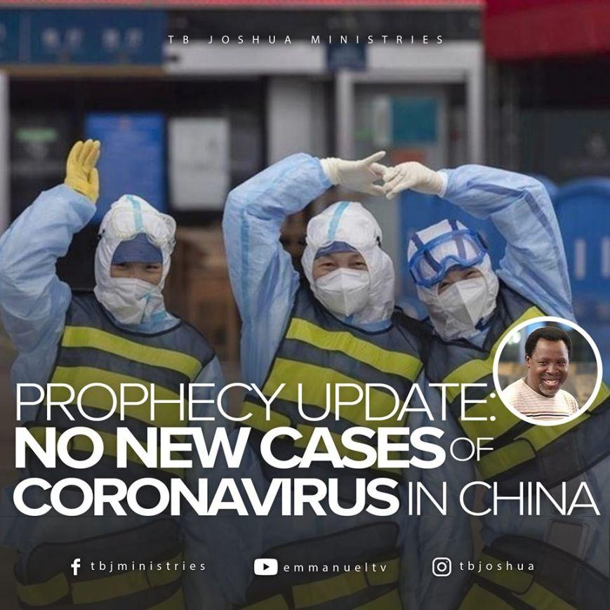 coronavirus, china, tb joshua