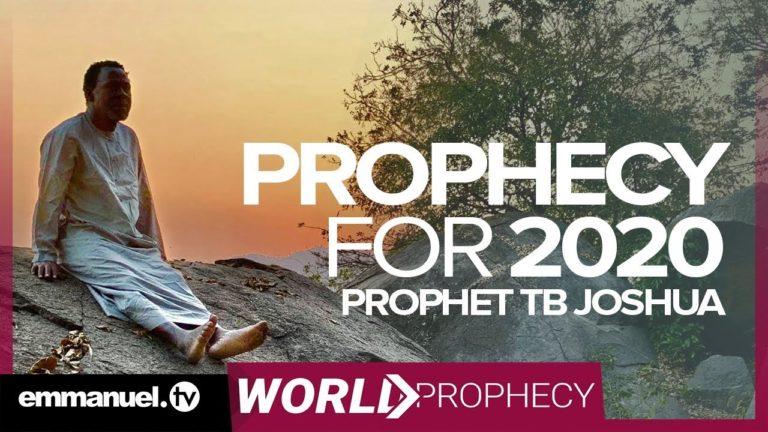 tb joshua, 2020 prophecy