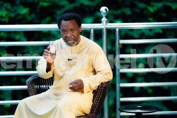 Prophet TB Joshua, SCOAN, New Morning Water